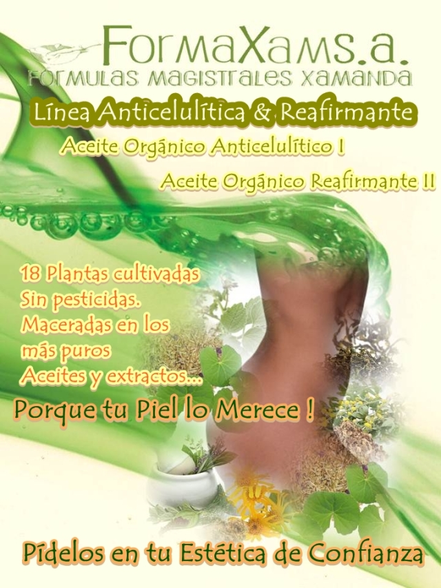 Linea Anticelulitica y Reafirmante
